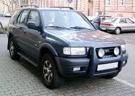 Opel Frontera — Wikipédia