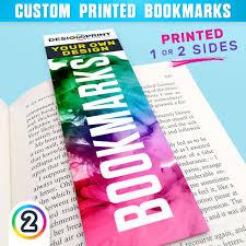 Design Bookmarks Bookmarks Printed Full Colour