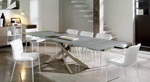 round dining table with leaf extension. Image Of: Modern Extension Dining Table Round With Leaf