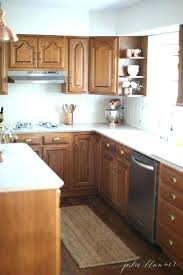 old oak kitchen cabinets painting wood kitchen cabinets ideas to update oak or refinishing oak kitchen
