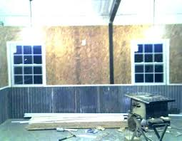 metal wall coverings for interior garage covering corrugated walls siding corrugated metal for interior