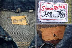 Vintage Denim Jackets From Levis Lee And Wrangler Gear