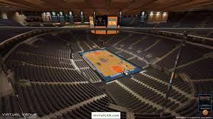 madison square garden seating chart view from west balcony section 18