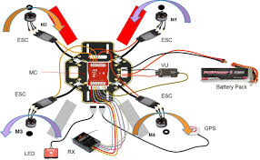 naza v2 wiring diagram build making drones 7 the ar610 receiver must first be fixed on the top board a detailed naza wiring diagram dji