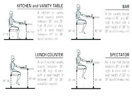 counter stool height standard bar what is table seat cm