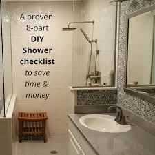 bathroom remodeling checklist 8 part checklist for a diy shower kit nationwide supply