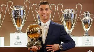 Real Madrid's Cristiano Ronaldo wins the Ballon d'Or 2016 - AS.com