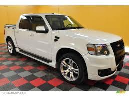 2008 White Suede Ford Explorer Sport Trac Adrenalin 4x4 25063042