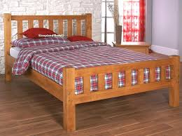 Austin Small Double Pine Wooden Bed Frame At Sleepland Beds