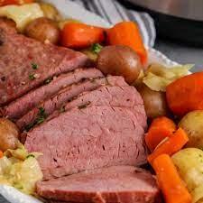 instant pot corned beef with veggies