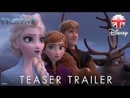 frozen 2 2019 teaser trailer