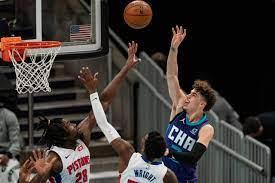 Charlotte Hornets 105, Detroit Pistons ...