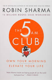 Amazon Book Pre Order Chart The 5 Am Club Own Your Morning Elevate Your Life Robin