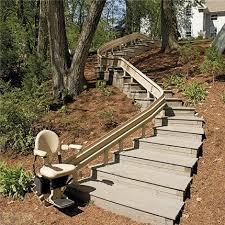 orange stair lift Elan sre3000 anaheim Straight Rail stairlift