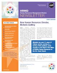 Newletter Example Monthly Human Resources Newsletter Example Templates At