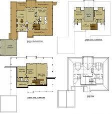 Logcabin Style House Plans  Plan 128264 Bedroom Log Cabin Floor Plans