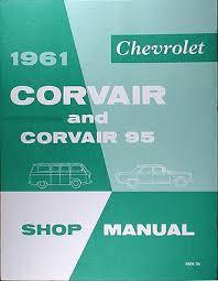 1962 1963 chevrolet corvair wiring diagram manual reprint 1961 chevrolet corvair corvair 95 repair shop manual reprint