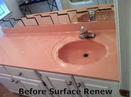 change sink color before resurfacing