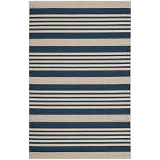 safavieh courtyard navy indoor outdoor rug 4 x 5 7