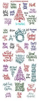 1000 ideas about Christmas Wishes on Pinterest Merry Christmas. Christmas Lettering Quotes amp Clipart by picbykate on creativemarket