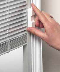 ODL Enclosed Blinds Built In Door Window Treatments For Entry DoorsHome Windows With Built In Blinds