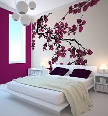 innovative decoration beautiful wall decorating ideas modern japanese bedroom with cherry blossom wall decor 45 beautiful