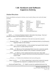 f capstone activity 1 00 hardware and software capstone activity student directions each