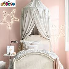 US $30.8 20% OFF|Play House Tents for Kids Canopy Bed Curtain Baby Hanging Tent Crib Children Room Decor Round Hung Dome Mosquito Net Bed Valance-in ...