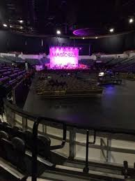 Valley View Casino Center Section Ll20 Row 5 Home Of San