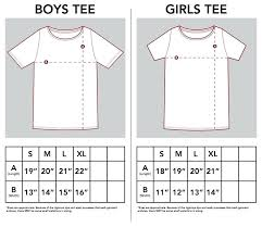 Child T Shirt Size Chart By Age Boy T Shirt Size Chart Coreyconner