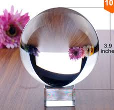 100mm new arrival feng shui asian quartz clear crystal ball sphere for home decoration free shipping cheap asian furniture
