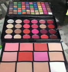 lakmé absolute eye shadow blush lipstick pallet plete makeup kit for bridal