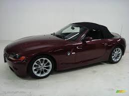2003 Merlot Red Metallic BMW Z4 2.5i Roadster #24436744 Photo #33 ...
