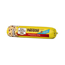 nestlÉ toll house refrigerated chocolate chip cookie dough