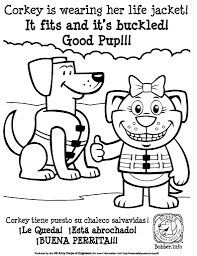 Small Picture Water Safety Coloring Pages 4778