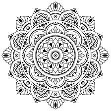 Mandala Da Colorare Come Antistress Foto Tanta Salute