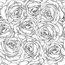 Coloriage Adulte Fleurs