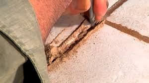 Repair Bathroom Floor How Do I Repair A Crack In Tile Grout Ceramic Tile Repair Youtube