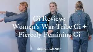 Gi Reviews Womens War Tribe Gi Fiercely Feminine Gi