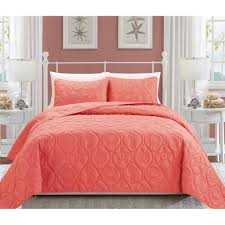 Better Homes and Gardens Coral and Shells Bedding Quilt Set ... & Better Homes and Gardens Coral and Shells Bedding Quilt Set - Walmart.com Adamdwight.com