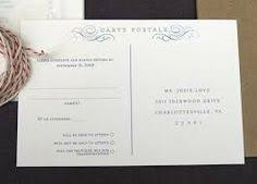 wedding rsvp postcards templates rsvp postcard to go out with the invitations wedding ideas