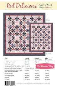 Red Delicious Downloadable Pdf Quilt Pattern Diary Of A Quilter