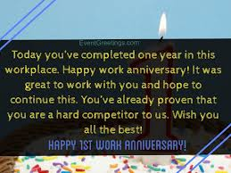 A funny or touching card and message is a great way to let someone know how proud or pleased you are of them for their work anniversary. 15 Unique Happy 1 Year Work Anniversary Quotes With Images