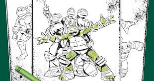 Small Picture TMNT Coloring Pages Nickelodeon Parents
