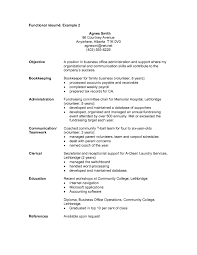Functional Resume Format Sample Cover Letter Sample What Is A