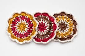Thread Crochet Patterns Awesome Cosy Coaster Crochet Pattern Merino Tomatoes