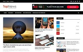 Free Newspaper Template Psd Best Premium News Website Templates Free Newspaper Download Html