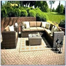 baner garden 4 piece outdoor furniture complete set black modern pool patio adjustable