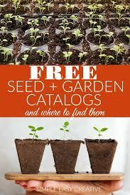 seed garden catalogs