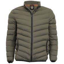 Mens Padded Jacket Brave Soul Quilted Bubble Coat Funnel Neck ... & Men's Stylish Brave Soul Jackets Adamdwight.com